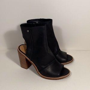 Ugg Valencia Peep Toe Booties Women Size 9